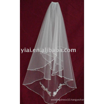 2013 Applique Tulle Wedding Veil V007