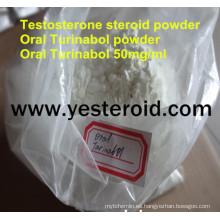 Edificio de crecimiento muscular de Turinabol / 4-Chlorodehydromethyltestosterone oral