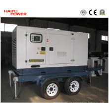 Remolque y generador móvil (10kVA ~ 500kVA) (HF40T2)