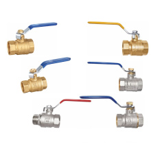 Brass Nickel Ball Valves (a. 7013)