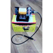 75mm 3in 150w Power Jewelry Mini Bench Grinder Machine Гибкий шлифовальный вал Электрический инструмент для моделирования хобби