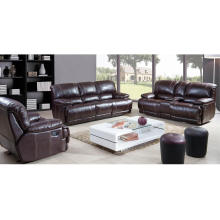 Luxury Double Reclining Loveseat and Corner Seat Sectional Sofa Set