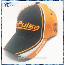 Adulto da forma com o chapéu de beisebol do emboridery 3D colorido e o logotipo do custome