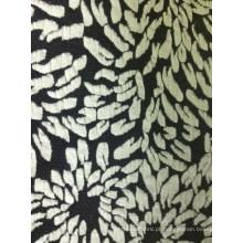 Flor de vestuário T / R Jacquard Shirting Fabric