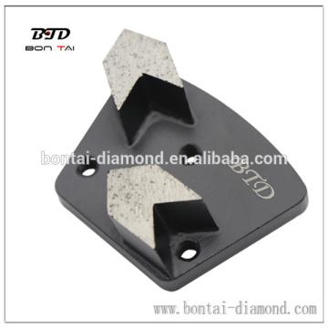 Инструмент для трапецеидальной трапецеидальной стрелки для снятия бетонной краски, эпоксидная смола
