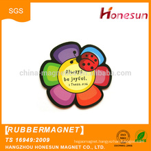 China supplier soft flexible Round Rubber fridge Magnets wholesale