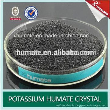 Hot-Selling Humate Super Sodium Soluble à l'Eau 100%
