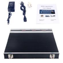 Repetidor de larga distancia GSM de alta potencia, 900 1800 2100 2g / 3G / 4G Amplificador / repetidor de señal de teléfono móvil