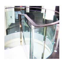 High Quality Custom Safety Toughened Double Curved Glass Balustrade