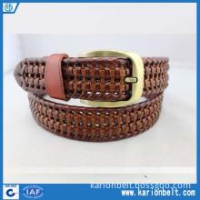 Basketweave Men's Work Uniform Casual Belt (35-811A)