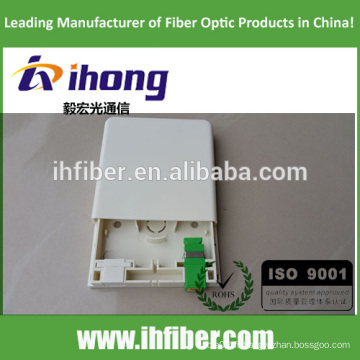 FTTH 86 plaque optique / panneau de prise optique - nouveau type de conception G