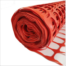 Portable plastic hdpe construction temporary security orange safety warning barrier mesh fence