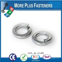 Made in Taiwan Stainless Steel Medium Split Thick Split Lock Zinc Plated Steel Split Lock Washer