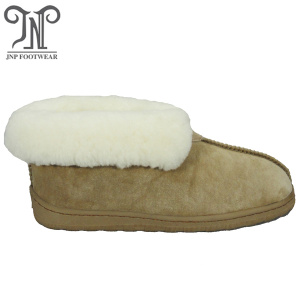Supply for for Sheepskin Slipper Boots Ladies Ladies indoor sheepskin hard sole furry bedroom slippers supply to Vietnam Exporter