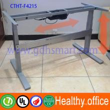 Предотвратить близорукость мебель и здоровыми электрический подъемный стальной каркас и современный интеллектуальный регулируемый рабочий стол