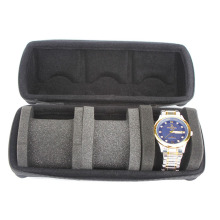 Triple Watch Travel Case Storage Organizer