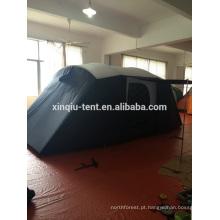 barraca grande do túnel do acampamento 8