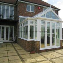 Алюминиевый дом застекленная терраса вилла с полым Каленое стекло (М-С)