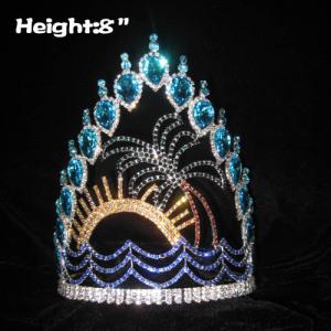 Coronas únicas del concurso de verano de Crystal Plam Tree