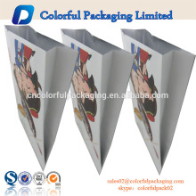Mini aluminum foil custom plastic bag for red date side gusset pouch