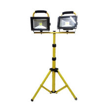 Long Life Source 10W Rechargeable Floodlight with Portable Bracket and Stand