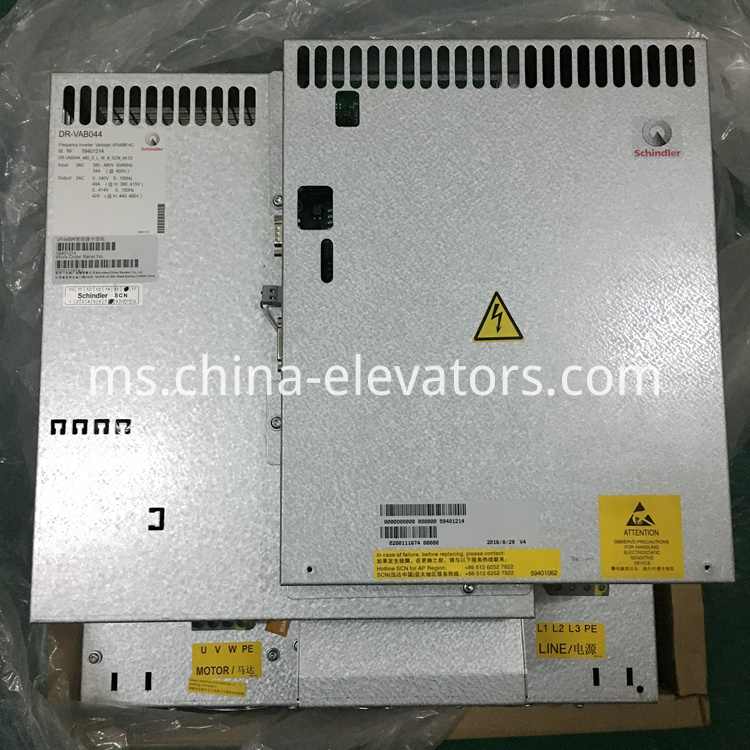 Schindler VF44BR Frequency Inverter 59401214