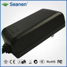 Adaptateur secteur 50watt / 50W avec nous Pin pour appareil mobile, décodeur, imprimante, ADSL, audio et vidéo ou appareil ménager