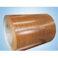 The best quality of the best price imitation wood grain aluminum veneer for building home improvement