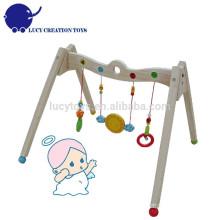 Umweltfreundliche Sicherheit hölzerne Säuglingsbaby-Spiel-Tätigkeit Gymnastikausrüstung
