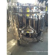 Équipement de brassage de bière En acier inoxydable Mush Tun avec trou d'homme