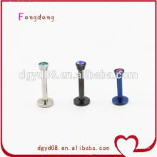 piercing de nez en acier inoxydable bijoux de corps