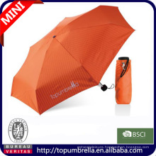 Hot sale super mini promotion 5 folding bag umbrella