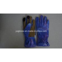 Luva de jardim - luva de segurança - luva de trabalho - luva de mão - luva protetora de luva e luva de tela de toque