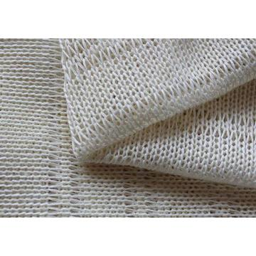 White home stitch bonded fabrics