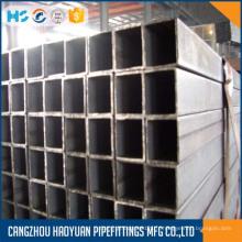 Tuyauterie en acier carrée de matériau de carbone de Thinwall