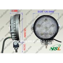 Projecteur portatif CE/RoHS/IP67/lampe de travail à LED approuvée/lampe de travail à LED remplaçable