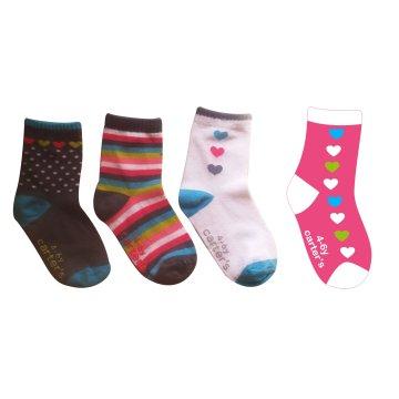 Meias de algodão bebê logotipo personalizado feitas de meias de qualidade Higj algodão fino