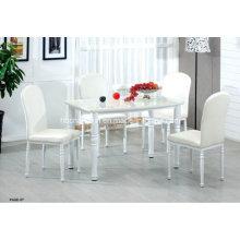 Novo moderno alta qualidade mesa de jantar de vidro Popular (CX-DT-K118)