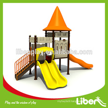 New Design Outdoor Play Houses with Slides for children LE.CB.012