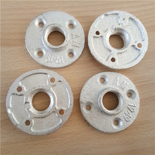 high quality cast iron galvanized pipe flanges