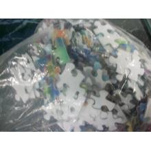 Juegos de rompecabezas de plástico DIY de impresión personalizada