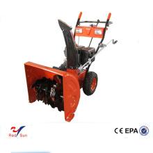 Barredora / quitanieves a gasolina de mano para cargador de ruedas