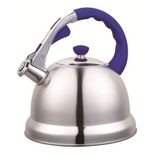 3.5L Household Purple Handle Chaleira Assobiadora