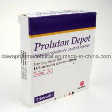 Fertige Medizin für weiblichen Schutz Hydroxyprogesteron Caproate Injection