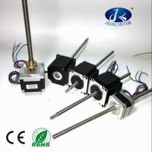 China Gewindespindel NEMA17 NEMA 23 Schrittmotor angepasst