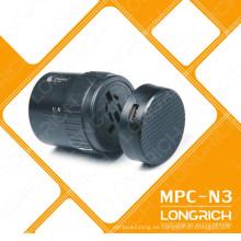 LONGRICH Promocional Universal Travel Plug Adapter MPC-N3 con usb