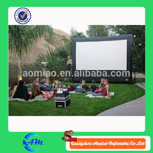 Écran de film gonflable utilisé, écran de film gonflable à vendre, écran de projection arrière gonflable