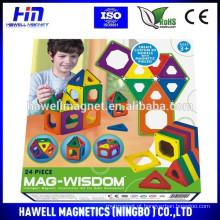 Brinquedos magnéticos 2015 para crianças com mais de 3 anos