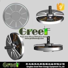 10KW 100 rpm Coreless gerador de ímã permanente de disco