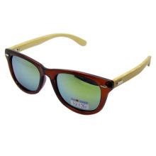 Привлекательный дизайн бамбуковых солнцезащитных очков (SZ5761-1)